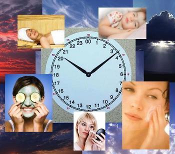 в какое время лучше ухаживать за кожей лица
