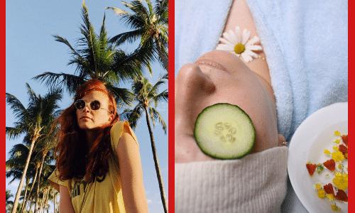 Уход за кожей лица летом после 40 лет