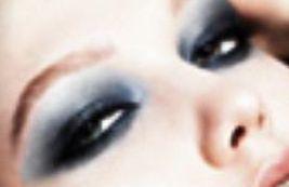 макияж смоки айс - тени под глаза