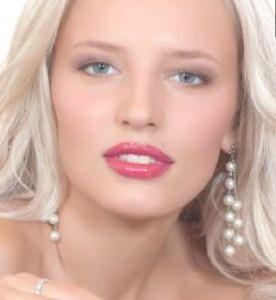 Акцент на губы макияж