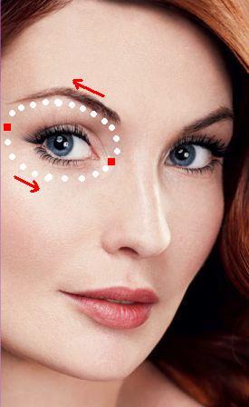 kak nanosit krem dlya glaz Руководство как правильно ухаживать за кожей вокруг глаз