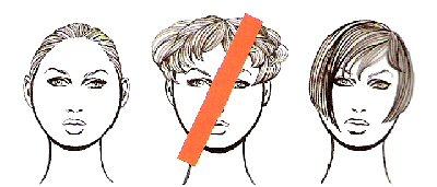 krug Как подобрать или изменить прическу
