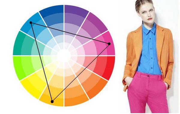 Сочетание цветов - как выглядеть стильно после 50