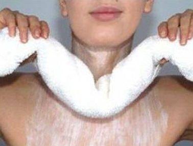 уход за кожей шеи маслами