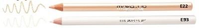 оттенки белых карандашей